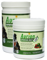Aurion Superfood Multi jars